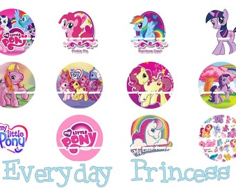 My Little Pony Bottle Cap Images