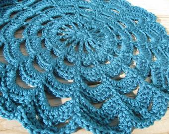 Crochet Doily Photography Prop, Crochet Newborn Doily