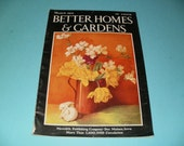 Vintage Better Homes and Gardens Magazine March 1932 - Scrapbooking - Paper Ephemera - Vintage Ads