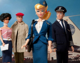 Flight Attendant Barbie Fine Art Photograph