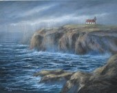 Point Cabrillo Lighthouse Painting