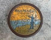 Vintage Bulwark Cut Plug tobacco tin