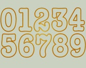 Birthday Numbers Applique