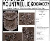 Weldon's (47) c.1888 Mountmellick Embroidery (2nd Book) Lovely Vintage Irish Floral Needlework