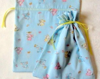 Blue Bunny Gift Bags set of 2