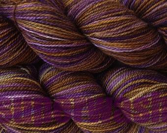 Variegated Yarn : ... Weight Handpainted Sock Yarn in Mocha Bean Superwash Variegated Yarn