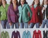 Jacket Sewing Pattern UNCUT Simplicity 0634 Sizes 16-24