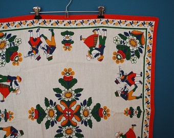 Vintage Dutch Tablecloth- Child Size