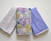 Baby Burp Cloths Set of 3 - Elephant
