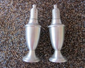 PEWTER salt and pepper