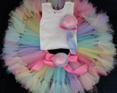 Birthday Outfits for Baby Girls, Candyland Birthday Dresses, Candy Land Tutus