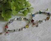 Swarovski Crystal Bracelet, Christian Bracelet, Christian Jewelry, Christian Message, Inspirational Beaded Bracelet, Beaded Bracelet