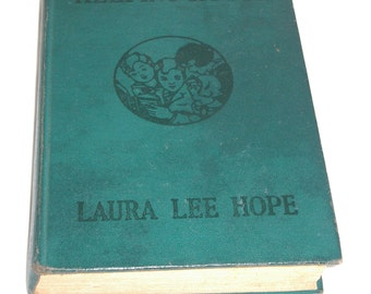Antique Bobbsey Twins Keeping House, by Laura Lee Hope, copyright 1925