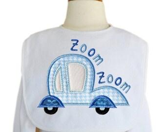 Zoom Zoom Car Applique 1