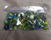 Vintage Marbles, Lot of 50 plus Crafts, Outdoor