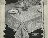 Hand Crochet Decorations, Vol. 119 Bucilla, Pub. in 1937