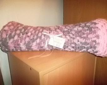 Crochet Baby Girl Blanket - Crochet Newborn Blanket - Crochet Baby Accesorie - Crochet Baby Stroller Blanket