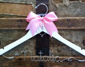 CUSTOM LISTING for xxsnowangelbooxx -- Personalized Bridal Hangers for Wedding Party