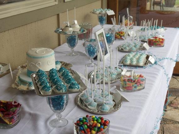 Wedding Cake Pops and Truffles