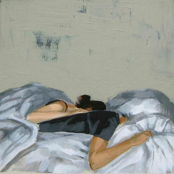 Sweet Dreams . 16 x 16 extra large giclee art print