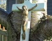 Vintage Catholic Crucifix