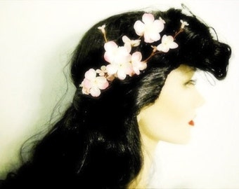 Cherry blossom hair comb