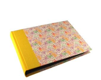 floral Photo Album Summerflower pink yellow