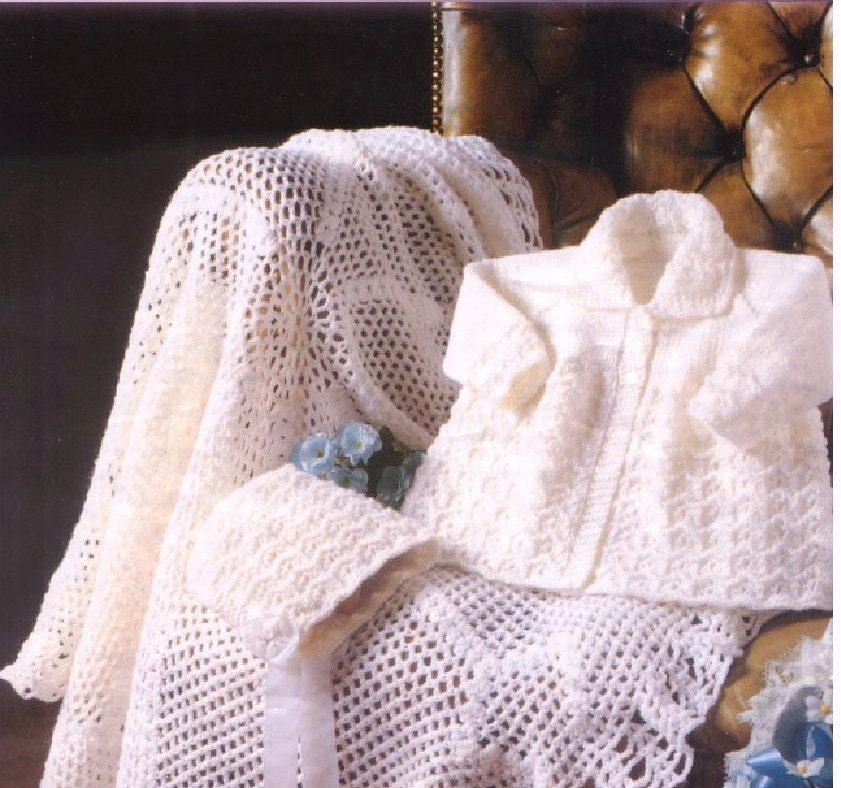 Baby Knitting Pattern Crochet Shawl Blanket Knitted