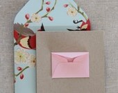 Tiny Envelope Enclosure Cards - Spring Fling