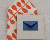 Tiny Envelope Gift Enclosure Cards - Navy