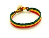 Hand-woven Rasta Bracelet