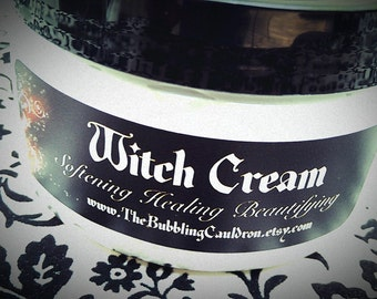 Witch Cream - Witch Lotion -  Quite Bewitching - Gothic Body Cream - Choose Your Scent
