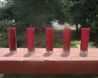 25 Shotgun Shells shotgun hulls 12GA empty for craft use
