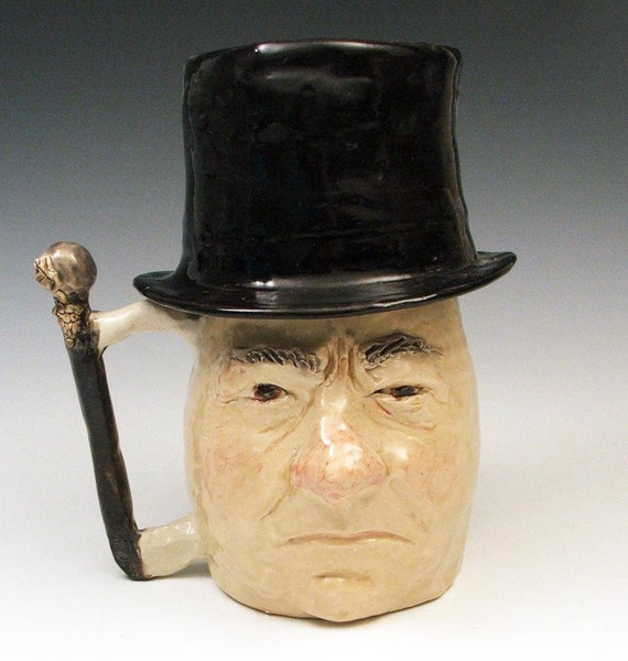 RESERVED for ANDREA: WC Fields with Removable Top Hat