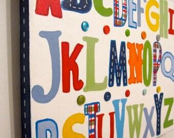 Madras ABC's Kids Wall Art