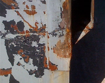 Rust Photo Urban Decay Street Art Drawn To Abstraction phipps y moran Flipping Gypsy Photography free mat Ready To Frame