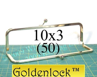 25% OFF 50 Goldenlock(TM) 10x3 purse frame