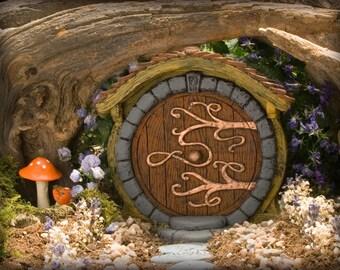 Brown Hobbit/ Fairy Door