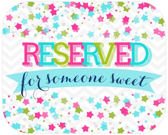 Reserved for Jessica