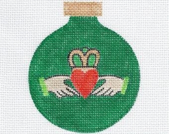 Claddagh Needlepoint Ornament - Jody Designs B223B