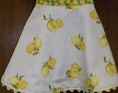 Cooking with a Flare Half Apron - Lemon Print