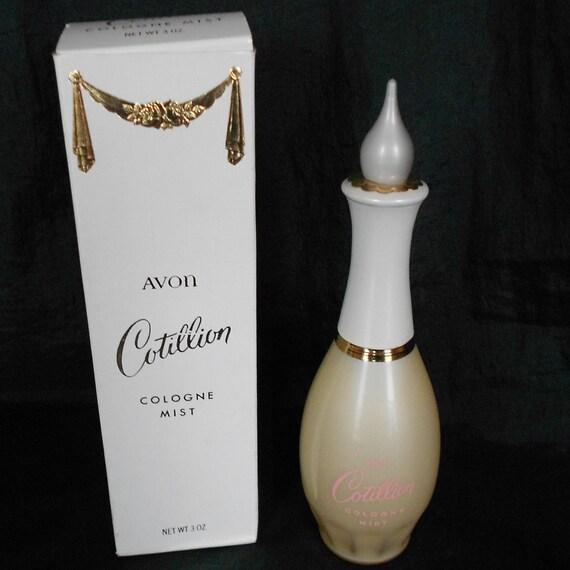 Vintage Avon Cotillion Cologne Mist Perfume Fragrance Spray