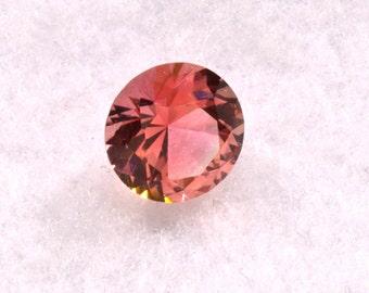 Tourmaline Pink 6.85mm Round 1.17 carat Grade AA