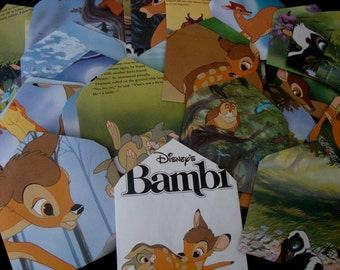 Bambi Upcycled Envelopes
