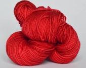 Hand dyed Merino/Cashmere/Nylon yarn - MCN DK ... LIPSTICK