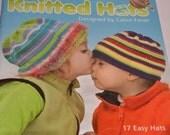 DESTASH- knitting pattern book, Kids Hats SALE