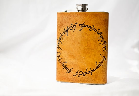 One Ring Flask with Elvish Inscription from Tolkein's Lord of the Rings