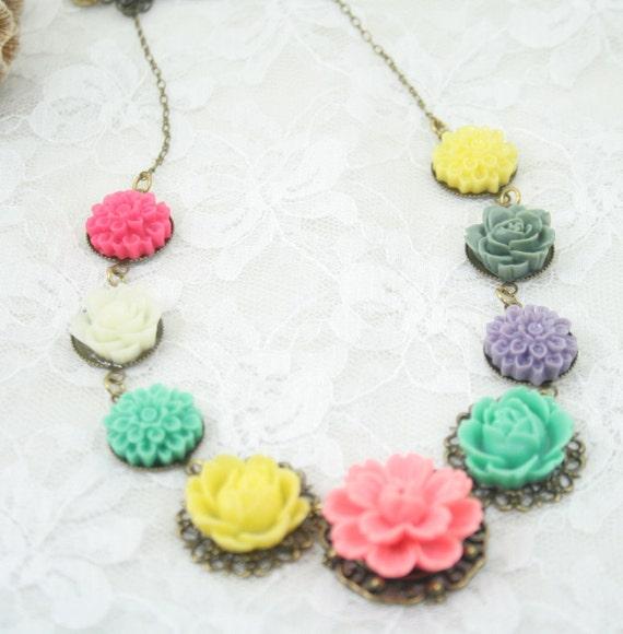 In The Garden  Necklace