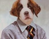 Bernard, 6th Grade- 8 X 10 Art Print