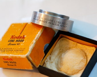 Vintage set- Extender Ring, Adapter Ring, Lens Hood, and Extension Tube by Kodak, Tiffin, and Exacta